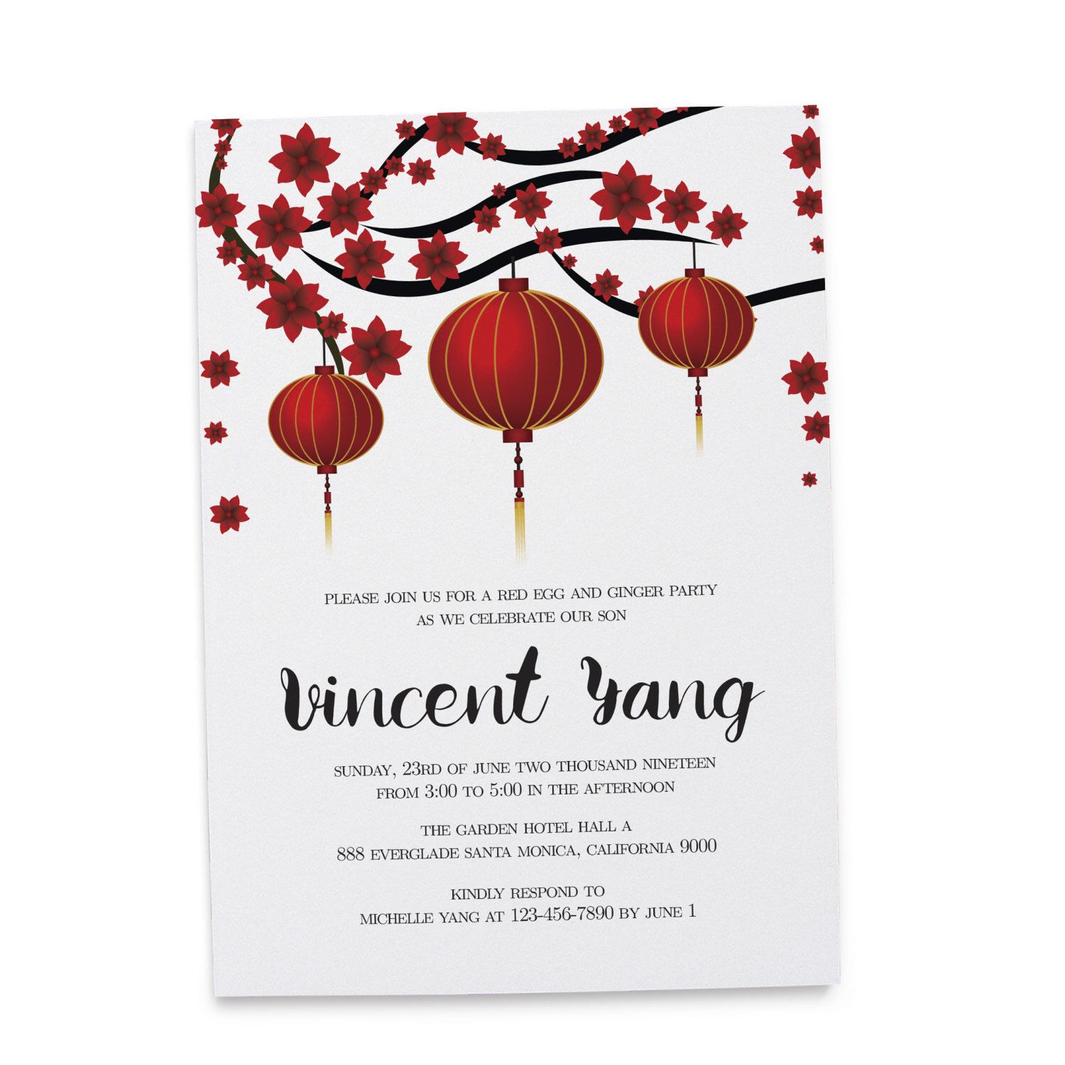 chinese birthday invitations with lucky red color ; 77c0ab1b9aa05fbaadaddd8fb5acd05c