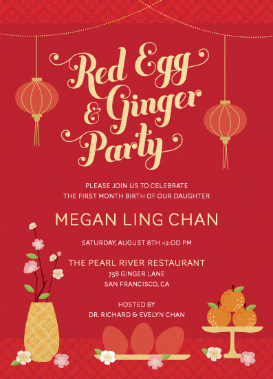 chinese birthday invitations with lucky red color ; 8a8c71dd580eba46e4796bd16c4113f9