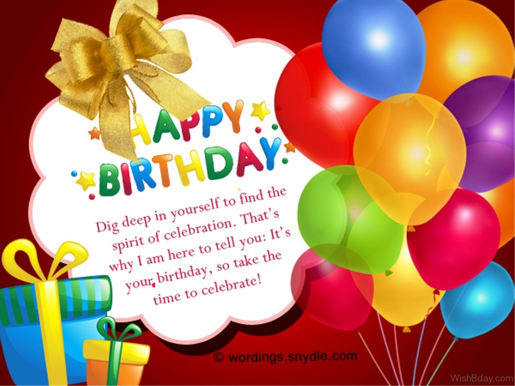 christian happy birthday wishes message ; Its-Your-Birthday-So-Take-The-Time-To-Celebrate