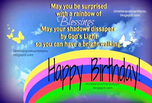 christian happy birthday wishes message ; christian+free+birthday+card+free+quote+blessing