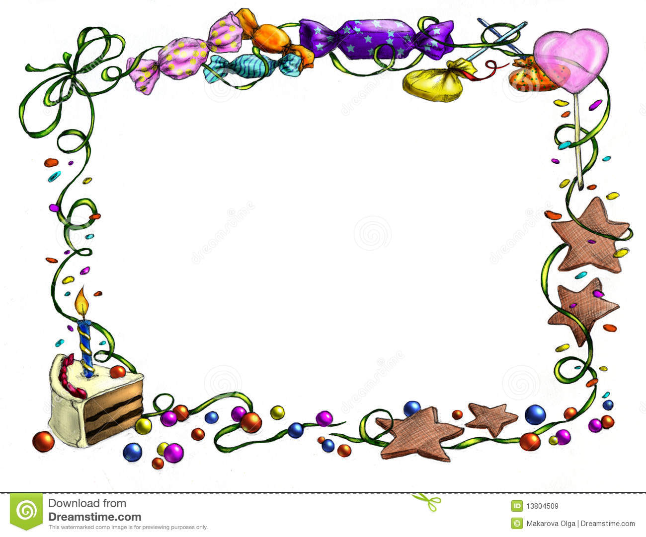 clipart birthday borders and frames ; frame-clipart-happy-birthday-7