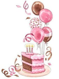 clipart birthday cake and balloons ; 1ab640fe1cfdf6d61398e6f190264409