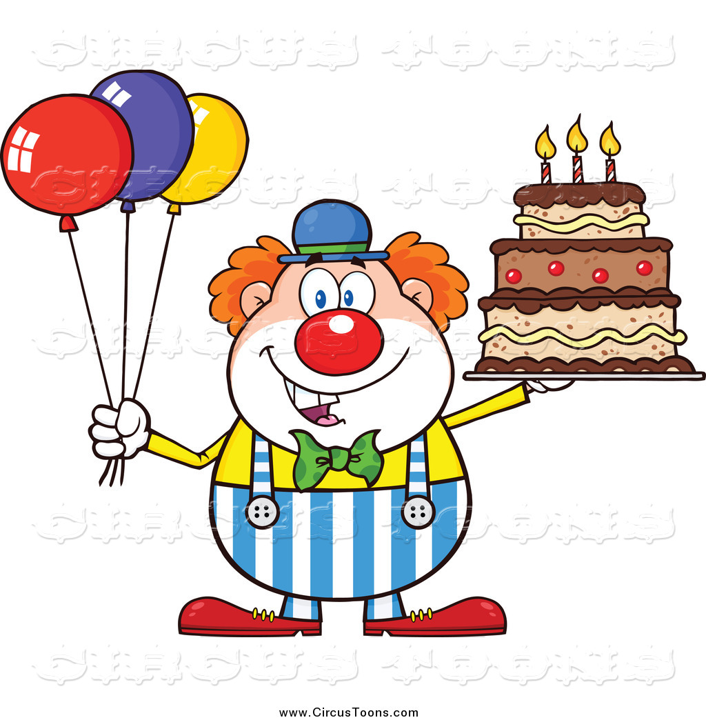 clipart birthday cake and balloons ; circus-clipart-of-a-happy-chubby-clown-with-colorful-balloons-and-a-birthday-cake-by-hit-toon-1534