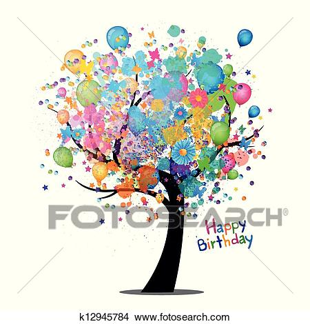 clipart birthday greetings ; vector-happy-birthday-greeting-card-clipart__k12945784