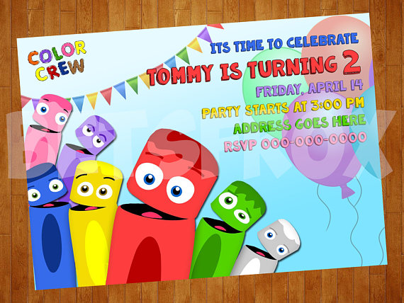 color crew birthday invitations ; 3a3701835bc5cf10211d2b767a35600b