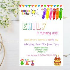color crew birthday invitations ; fdd4ea253768e58f82d4a756995044d0