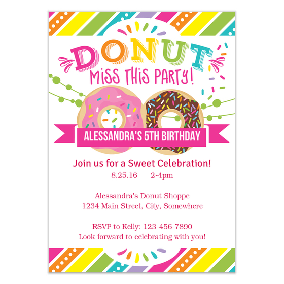 colorful birthday invitations ; 5358242