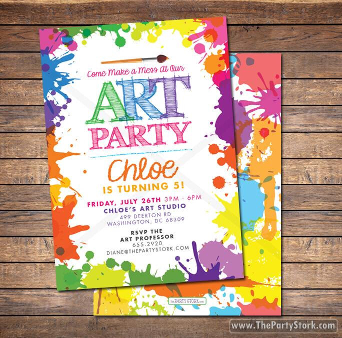 colorful birthday invitations ; 88e7fbf04495e897146b85381009106b