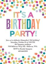 colorful birthday invitations ; SO399-2014397206310_ecowhite