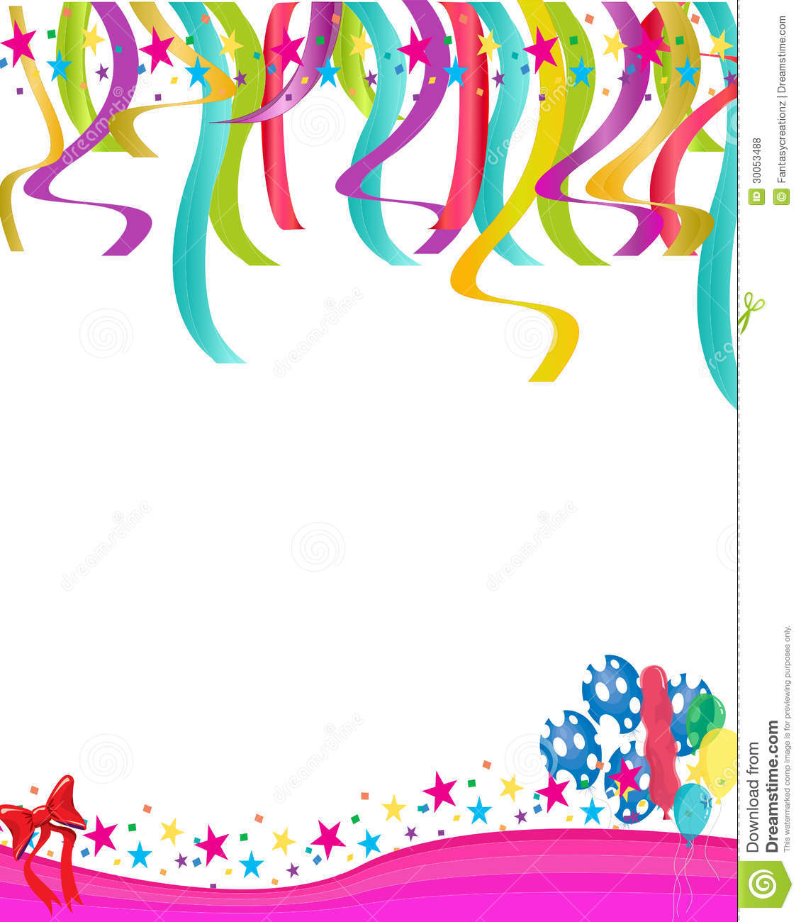 colorful birthday invitations ; colorful-balloons-statrs-illustration-birthday-cards-party-invitations-backgrounds-30053488