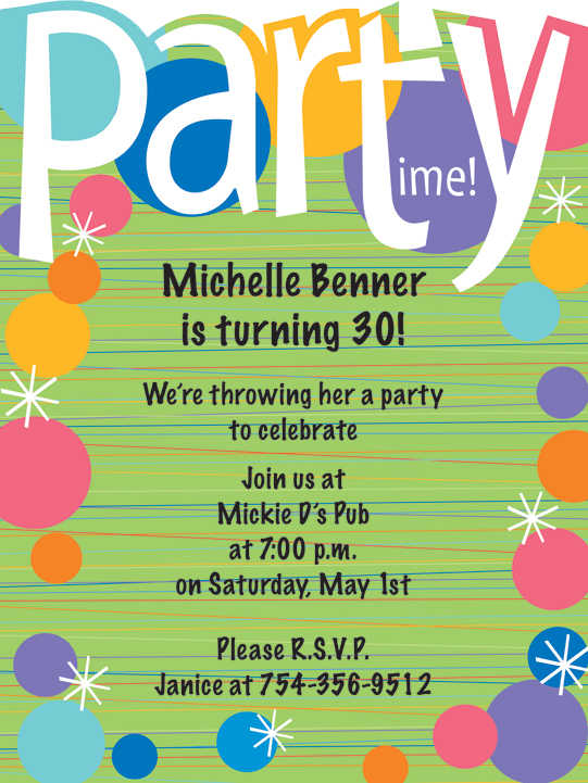 colorful birthday invitations ; ee39097147434e081b7bf48876395cda