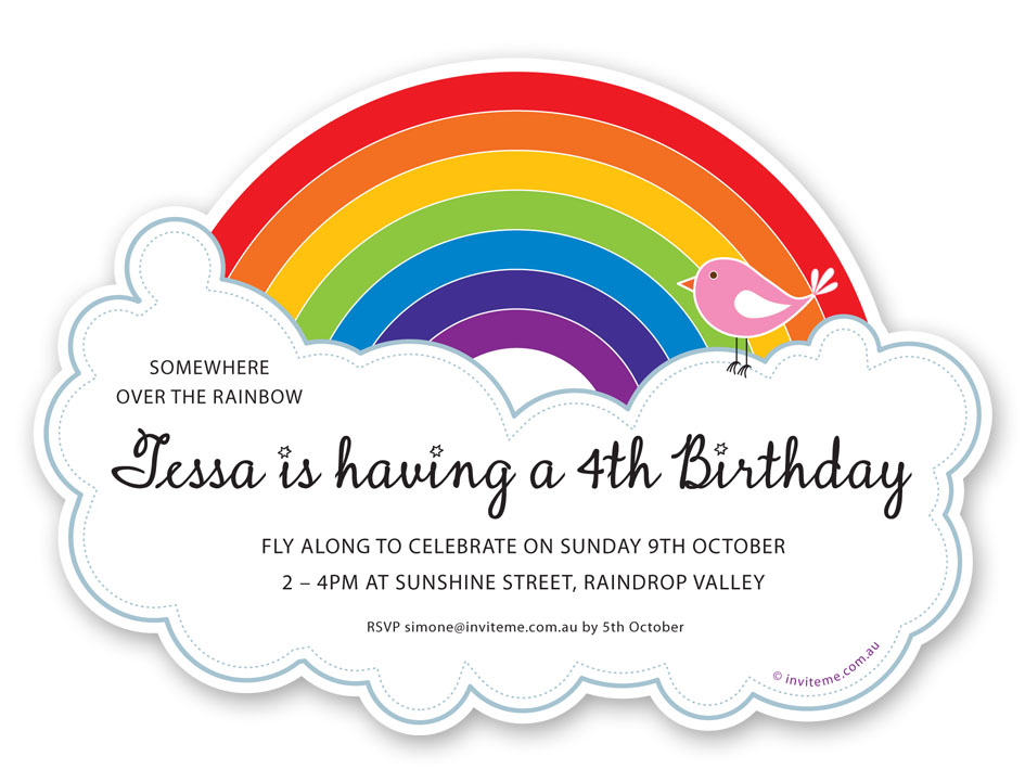 colorful birthday party invitations ; 23bb3dbb79c1a1904568056c3e235791