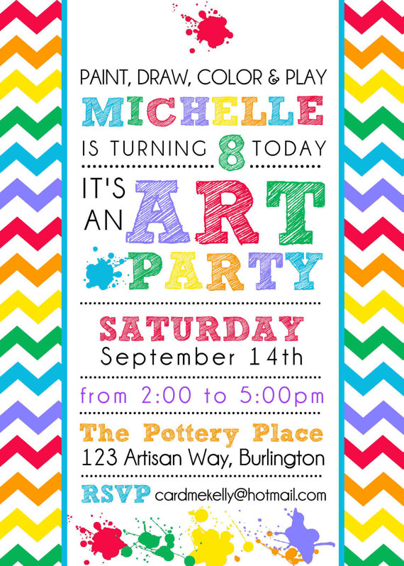 colorful birthday party invitations ; 9c984d9f029c3dde388777f1e5a78a59