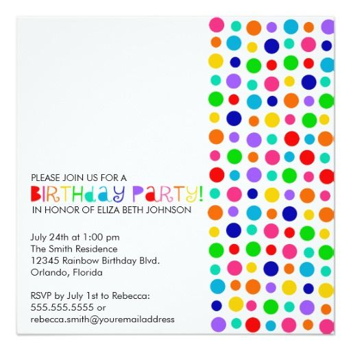 colorful birthday party invitations ; b12f7e20cd1e11bc333e699774d92064--colorful-birthday-rainbow-birthday
