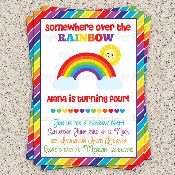 colorful birthday party invitations ; e00f12d261d7dbc12da20f6d1684aa07