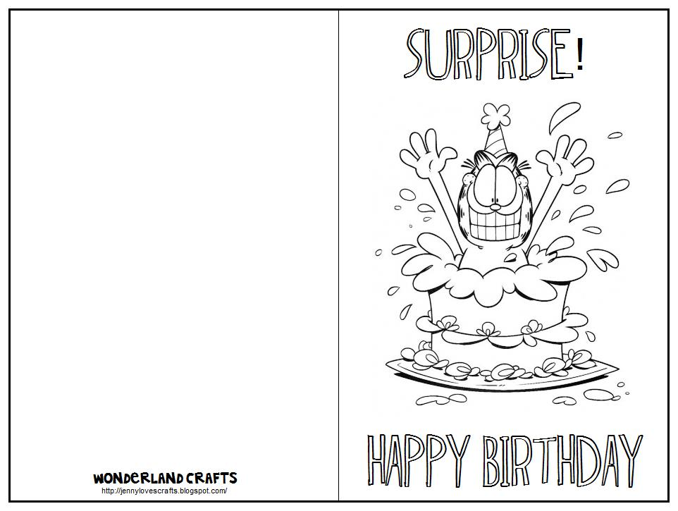 coloring birthday cards ; printable-birthday-cards-to-color-birthday-card-printable-birthday-cards-printfolding-birthdays-free-kids-coloring-pages