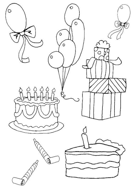 coloring birthday invitations ; birthday-invitation-coloring-pages_228634
