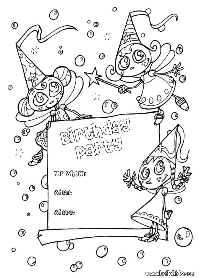 coloring birthday invitations ; coloring-page-birthday-card-invitations_206796