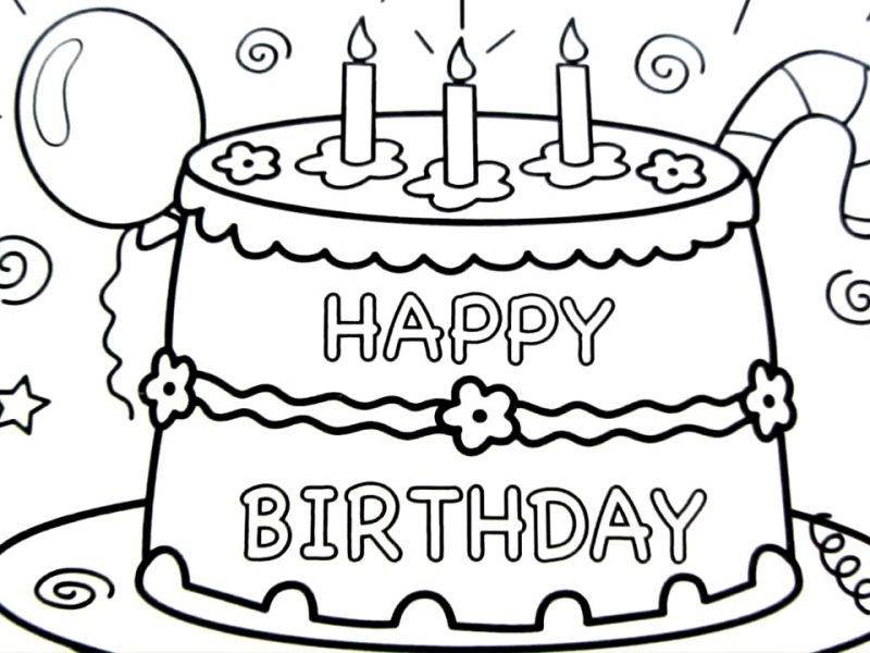 coloring book birthday cake ; spectacular-inspiration-cake-drawing-and-charming-happy-birthday-pages-coloring-book-fun-art-colours-delicious-cakes-800x600