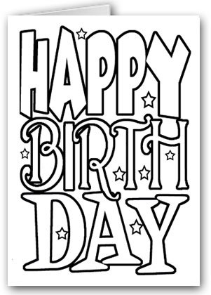 coloring book birthday card ; 51YkH3cqz1L