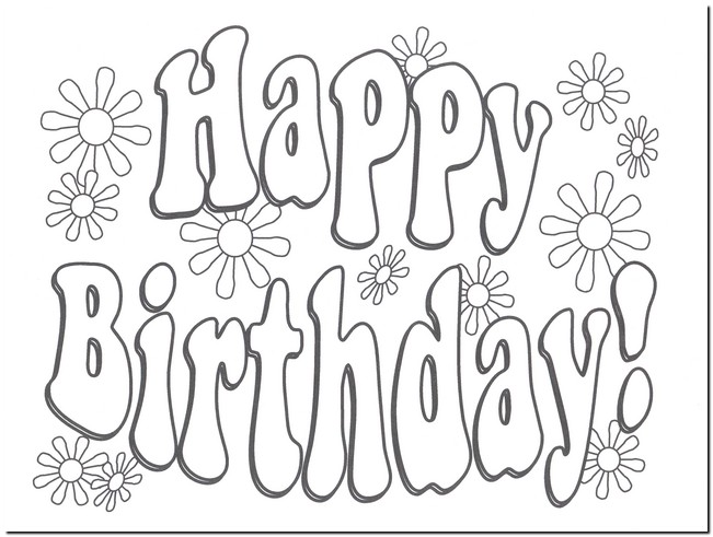 coloring pages birthday cards free ; happy-birthday-card-printable-coloring-pages-soft-decorations-design-printable-grayscale-free-printable-coloring-birthday-cards