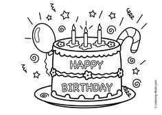 coloring pages for birthdays printables ; 414b508190f4c1d43e3d685bbccc8ebc--coloring-pages-for-kids-kids-coloring