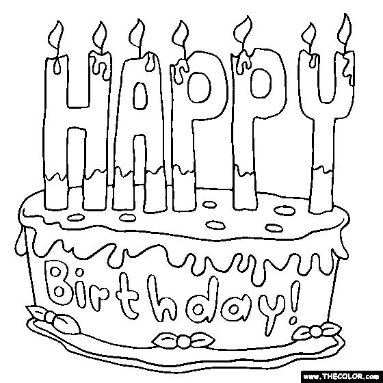 coloring pages for birthdays printables ; birthday-cards-coloring-pages-happy-birthday-cake-2-online-coloring-page