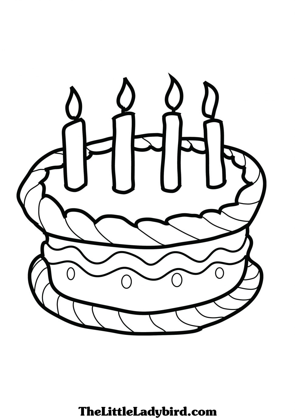 coloring pages for kids birthday cake ; birthday-cake-coloring-pages-awesome-design-ideas-sheet-for-kid-970x1372