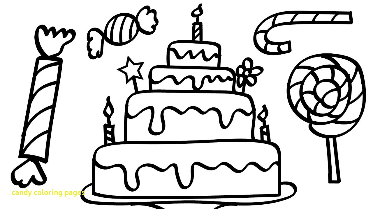 coloring pages for kids birthday cake ; candy-coloring-pages-with-birthday-cake-and-a-lot-candy-coloring-pages-kids-fun-art-of-candy-coloring-pages