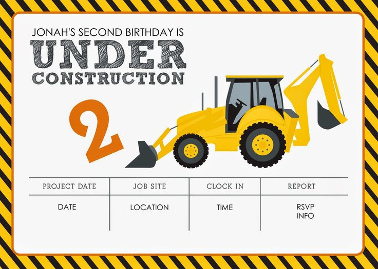 construction themed birthday party invitation templates ; construction-birthday-party-invitations-construction-themed-birthday-party-free-printables-jacqueline-templates