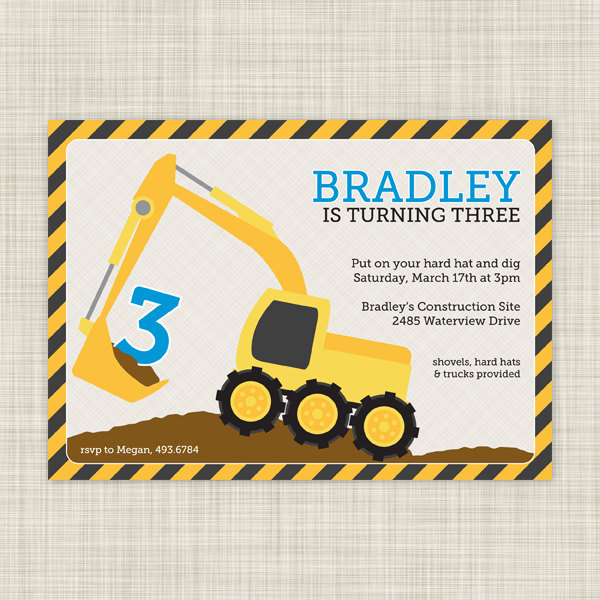 construction themed birthday party invitation templates ; construction-party-invitation-templates-construction-birthday-party-invitations-construction-birthday