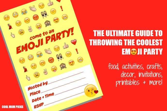 cool birthday activities ; ultimate-emoji-party-idea-guide-cool-mom-picks