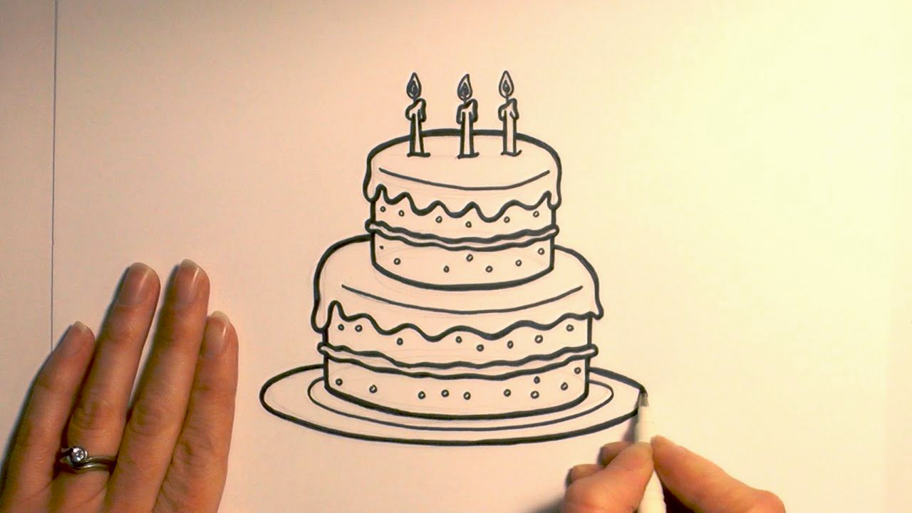 cool birthday drawings ; cool-birthday-cake-drawing-layout-fascinating-birthday-cake-drawing-inspiration