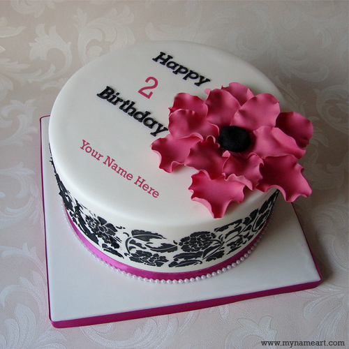 create a birthday cake with photo ; birthday-wishes-cake-with-name