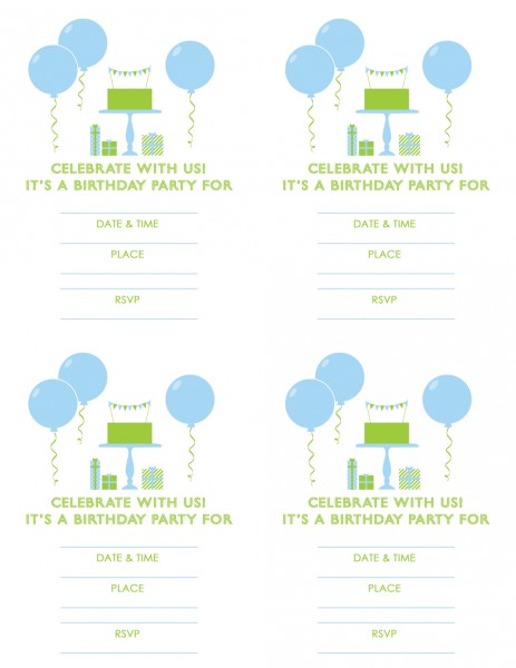 create printable birthday invitations ; free-printable-birthday-party-invitations-to-design-outstanding-Party-invitation-card-based-on-your-style-jyt16