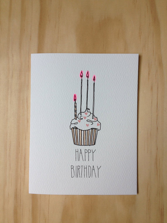 cute birthday card drawings ; 05a1cb531d76640ec64a4ea1acbec6ce