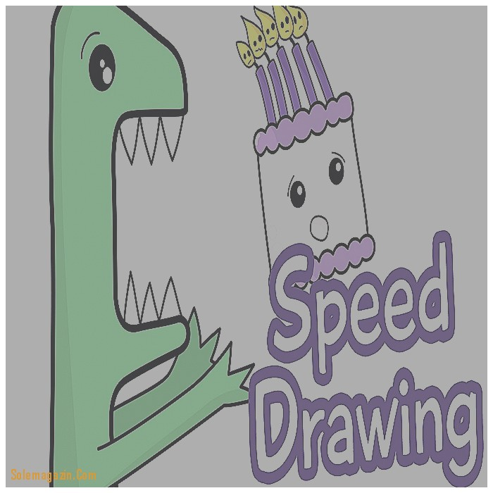 cute drawings for birthday cards ; things-to-draw-for-a-birthday-card-new-speed-drawing-how-to-draw-a-dinosaur-cute-birthday-card-youtube-of-things-to-draw-for-a-birthday-card