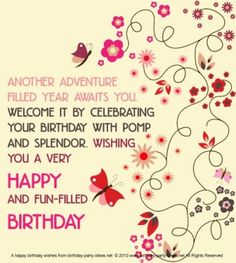 cute happy birthday picture messages ; e9a7a734a60784a16d4e871ceef125dc--birthday-words-birthday-sayings