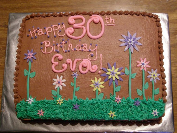 decorating a sheet cake for birthday ; 1c0674ef0564a3a838bee7bf2603699f--happy-th-birthday-girl-birthday