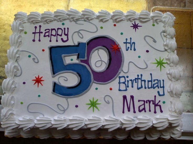decorating a sheet cake for birthday ; 29-50th-birthday-cake-ideas-for-men-awesome-50th-birthday-sheet-sheet-cake-decorating-ideas-for-men