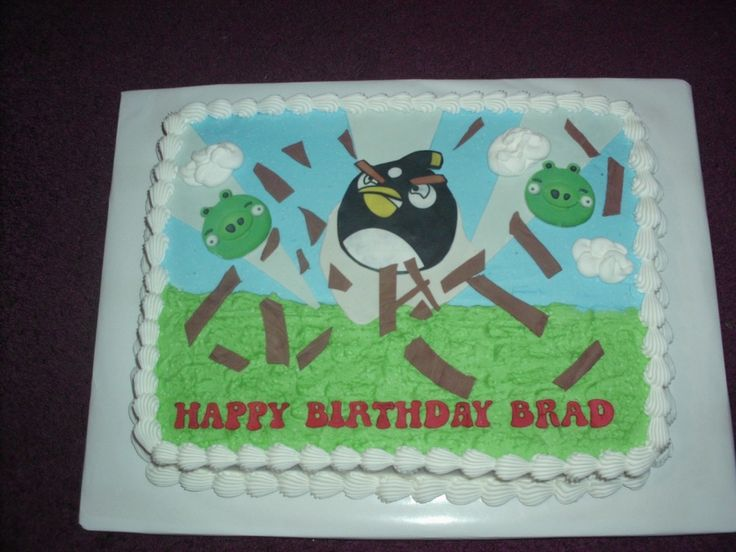decorating a sheet cake for birthday ; 6d0013abbf5bcde30b7fe3fc002b5e44--angry-birds-cake-fondant-decorations