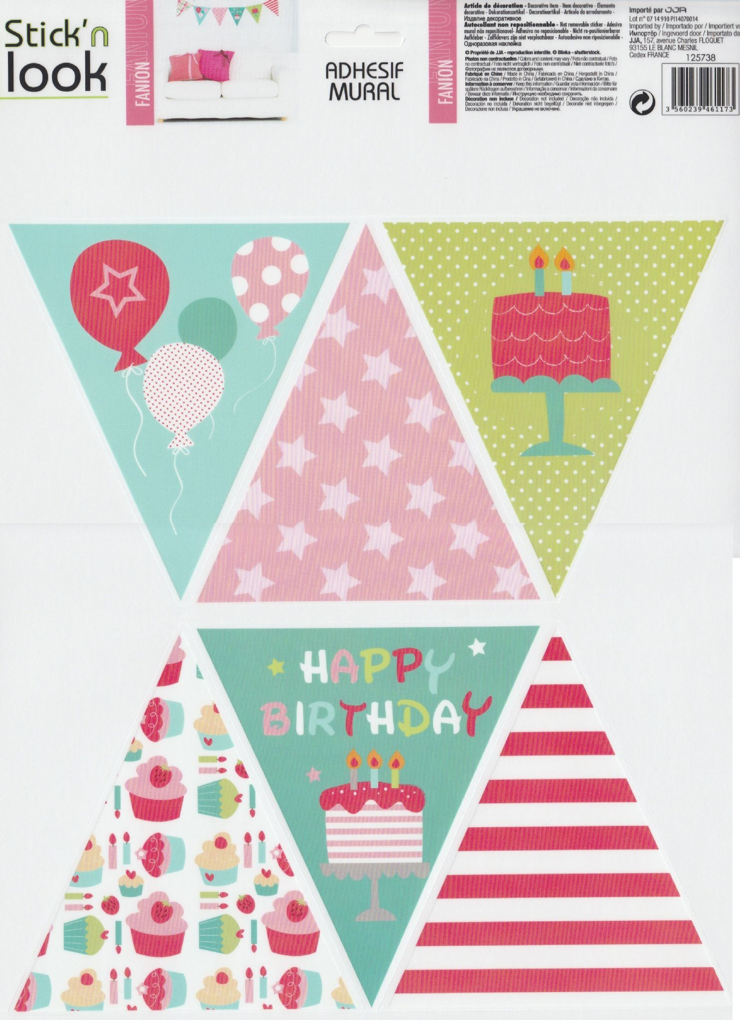 design sticker birthday ; vintage-floral-bunting-wall-sticker-flag-design-vinyl-transfer-mural-wall-art-12-triangle-stickers-birthday-%5b2%5d-3059-p