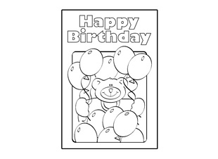 design your own birthday card printable ; birthday-card-design-template-happy-birthday-teddy-coloring-design-graphic-black-and-white-bear-and-balloons-print-your-own-birthday-card