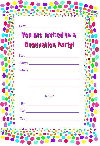 design your own birthday invitations free printable ; design-your-own-party-invitations-free-printable-graduation-party-invites-template