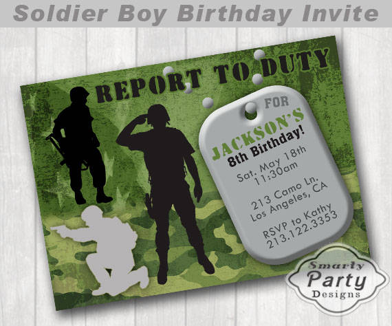 dog tag birthday invitations ; 7da47848171098391328ec5a2585bf80