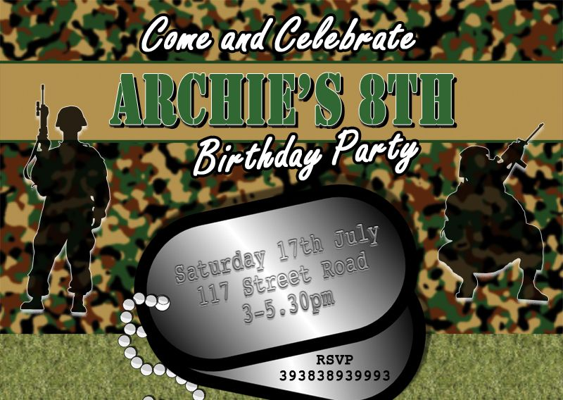 dog tag birthday invitations ; dog-tag-army-birthday-invitations-2487-p