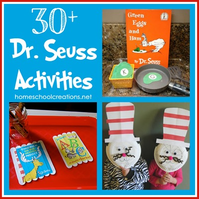 dr seuss birthday activities ; 30-Dr