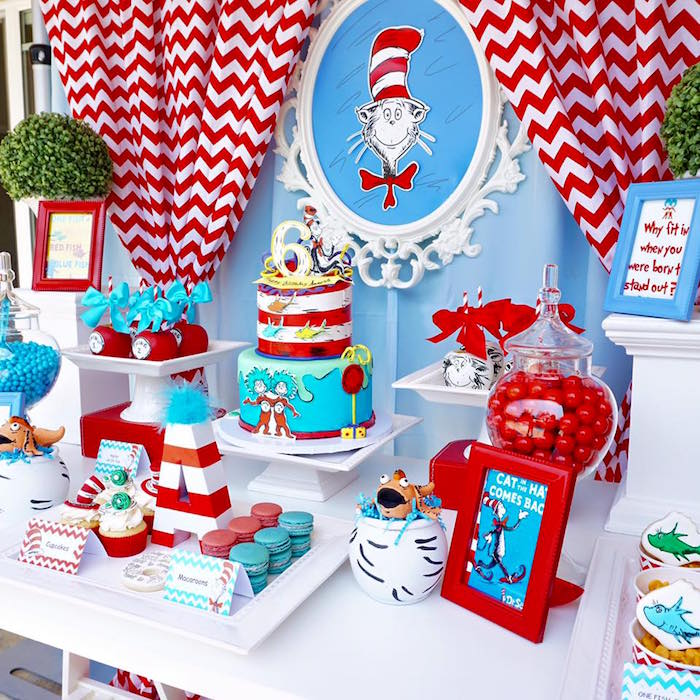 dr seuss birthday activities ; Dr