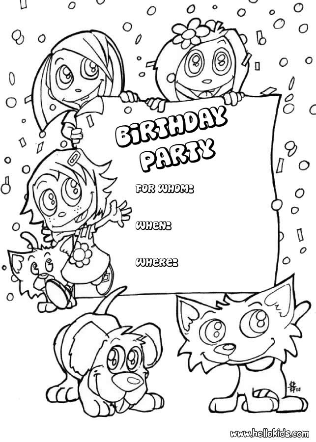 drawing birthday cards for kids ; Birthday_Card_Coloring_Pages_3