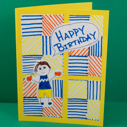 drawing birthday cards for kids ; Kids4PatchMarkers440